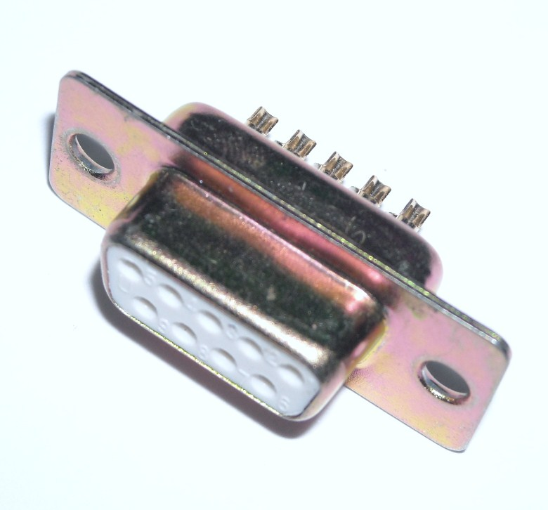D-SUB 9 Pins Female Connector for solder (DB9)