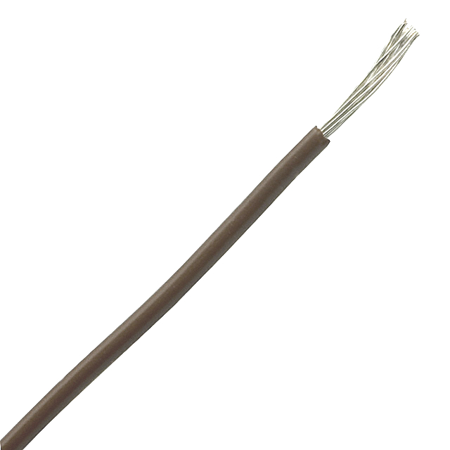 0.22 sq. mm cable for electronics isolated brown