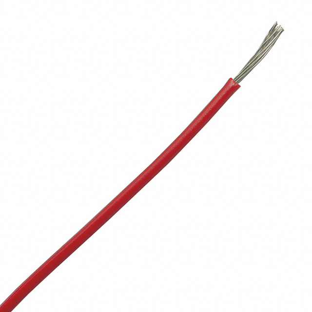 0.22 sq. mm cable for electronics isolated red
